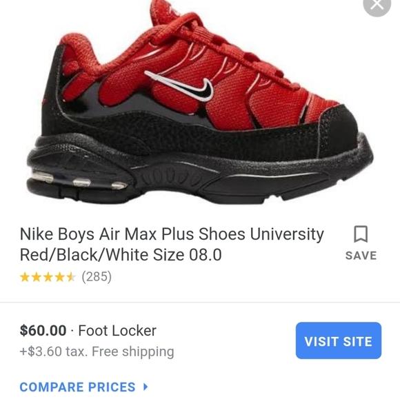 Nike Shoes | Air Max Plus Preschool 7c